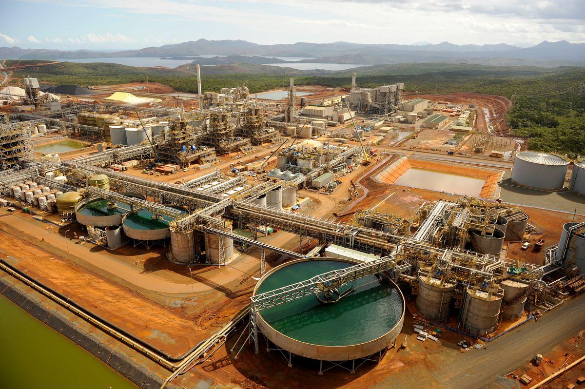 Vale mine in New Caledonia