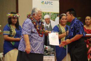 APTC students graduate in Samoa