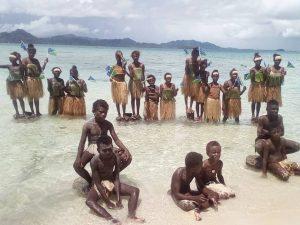 Student climate strike Solomon Islands