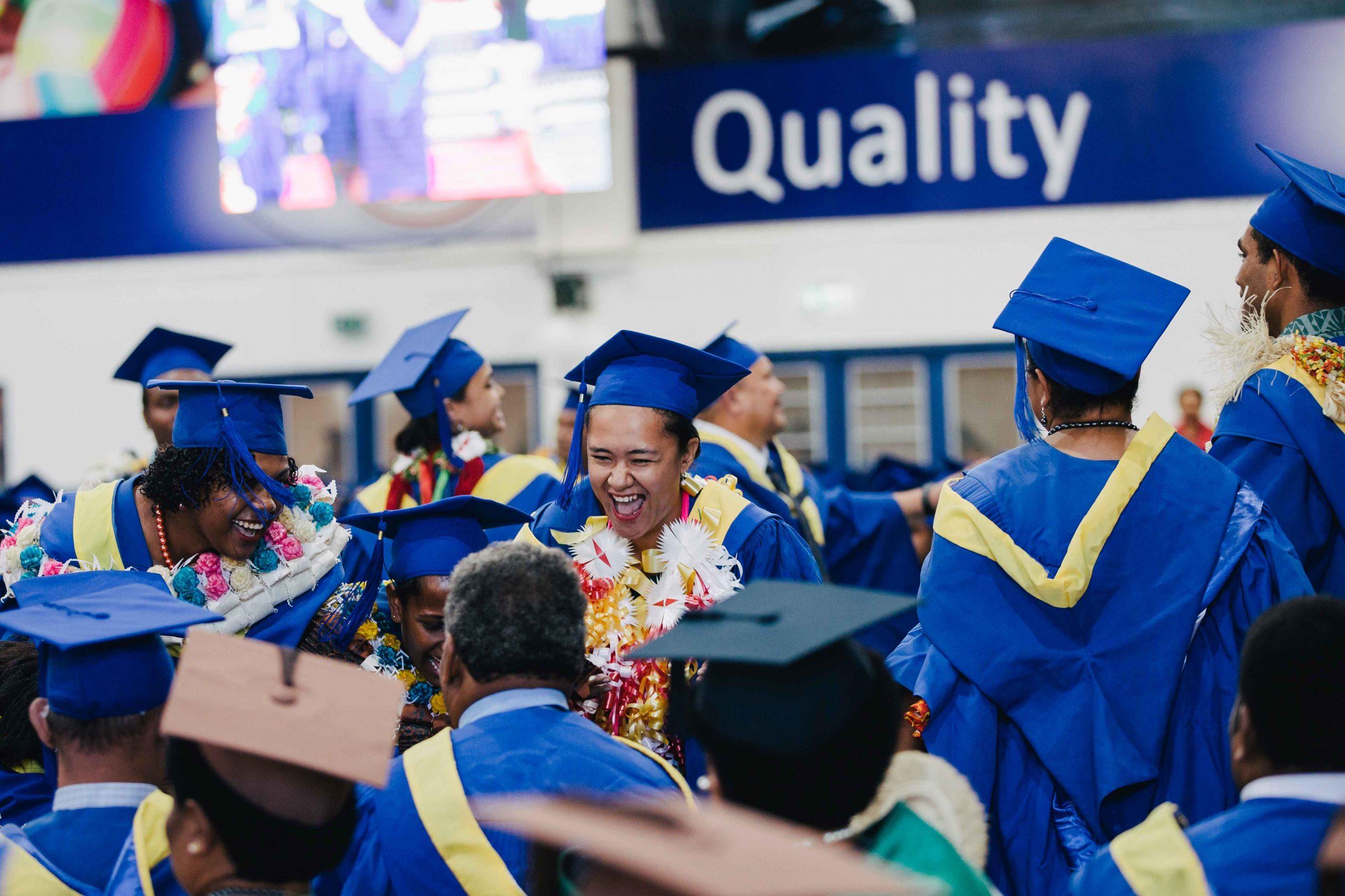 FNU students celebrate their graduation