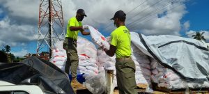 Ration distribution in Fiji's western division