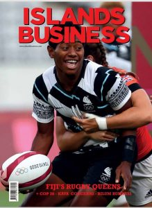 Islands Business August 2021 cover
