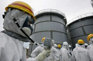 Inspectors after the Fukushima accident