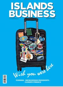 Islands Business September 2021 cover